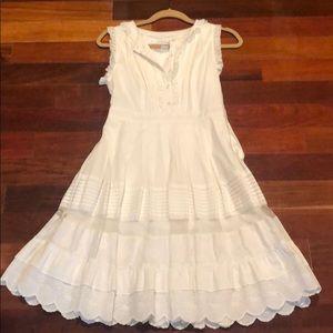 Jessica Simpson white dress 4